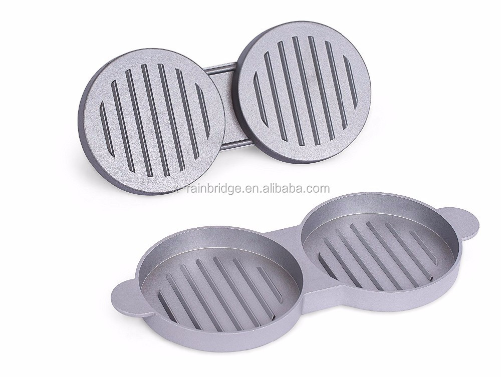 double hamburger burger press/hamburger press/hamburger maker manufacture in China
