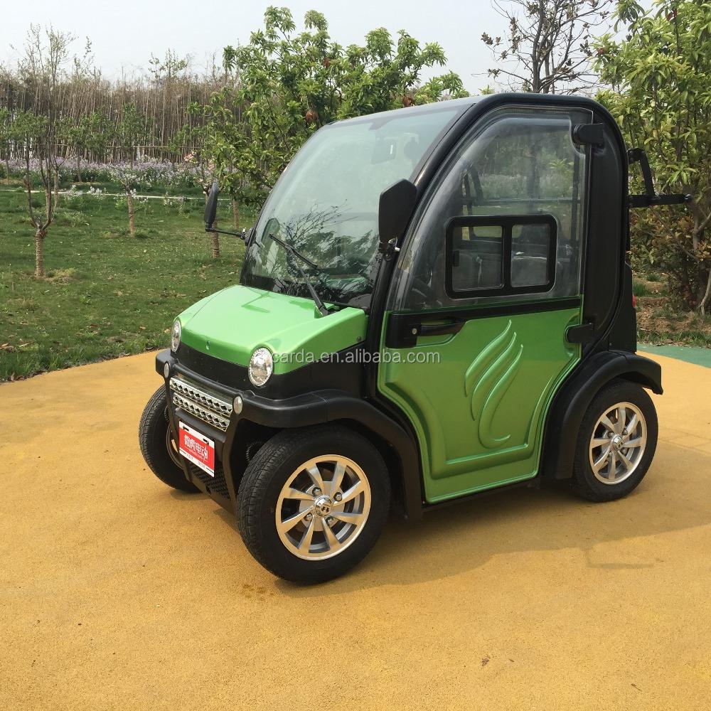 Electric 4 Wheel 2 Seat Electric Tuk Tuk Car For Sale - Buy Electric ...