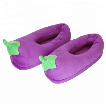 2018 New Design Popular In Whatsapp And Wechat Mens Indoor Shoes With  Eggplant Shaped Slipper For Men - Buy New Design Lndoor Shoes,Eggplant