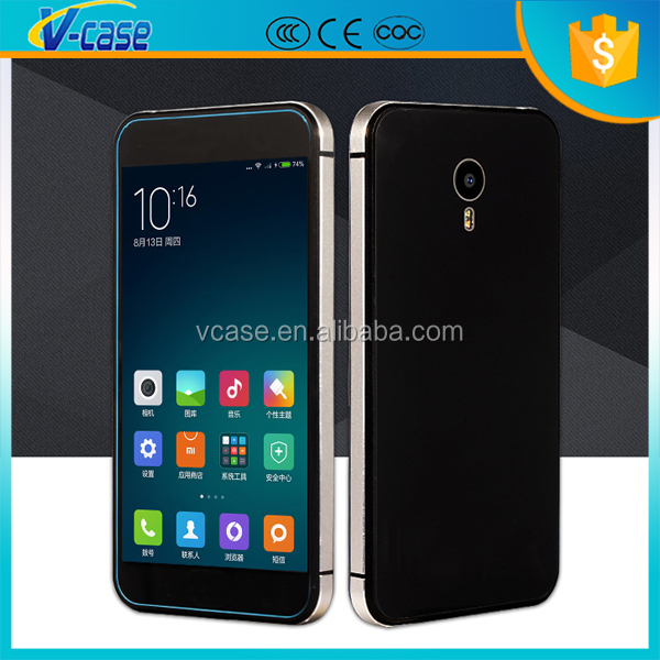 TEMPERED GLASS BACK ALUMINIUM BUMPER Cover Case For Meizu MX5