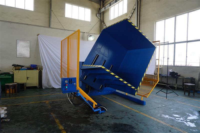 Stationary Load Inverter Pallet Inverter Bulle Pallet: New Portable Pallet Inverter/changer