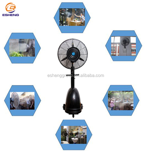 "26"" inch outdoor industrial electric mist fans with water spray"
