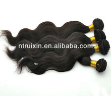 Body Wave 5A Grade Natural Black unprocessed wholesale virgin brazilian hair