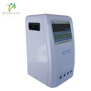 2018 new invention products electric physical therapy machine LCD display therapy machine as Christmas gift