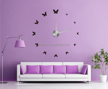 Newest high quality 3D DIY Decoration Quartz Analog Wall Clock