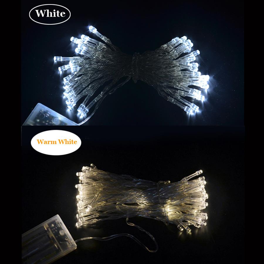 10M 80leds Battery Powered Fairy Lights LED String Light For Party Garden