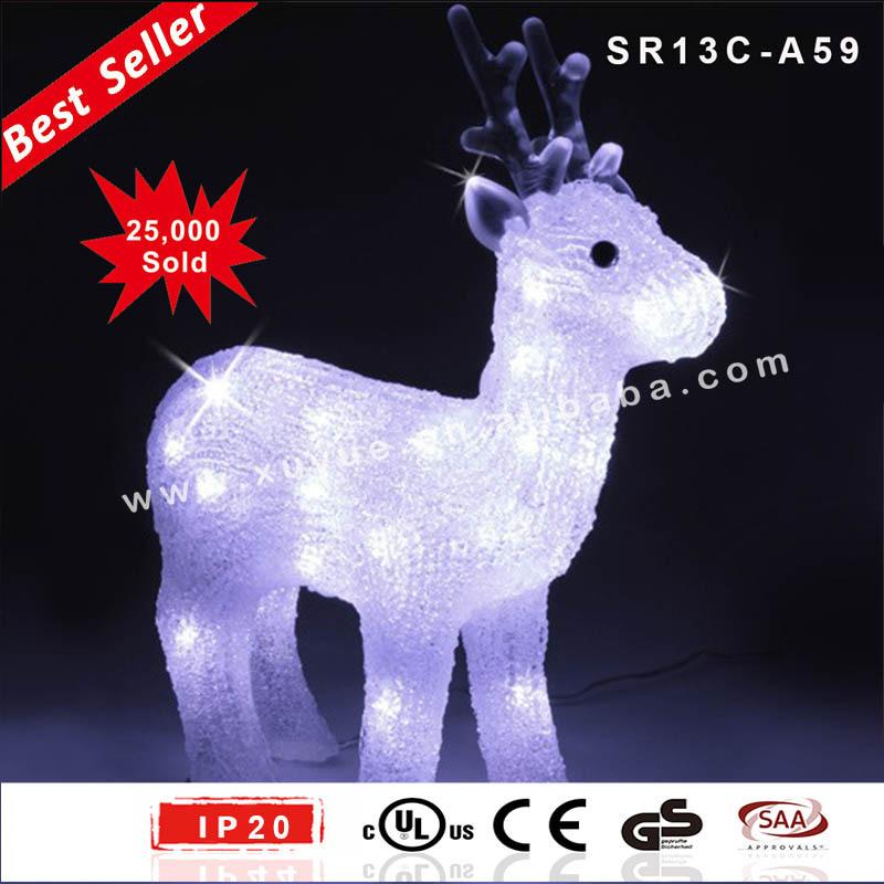 acrilico led exterior navidad decoracion outdoor led snowman renos y oso navidad decoracion