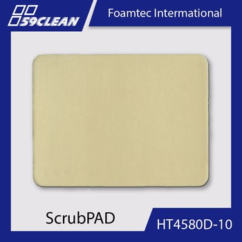 Foamtec HT4580D-10 Abrasive Scrub Pad For Cleanroom