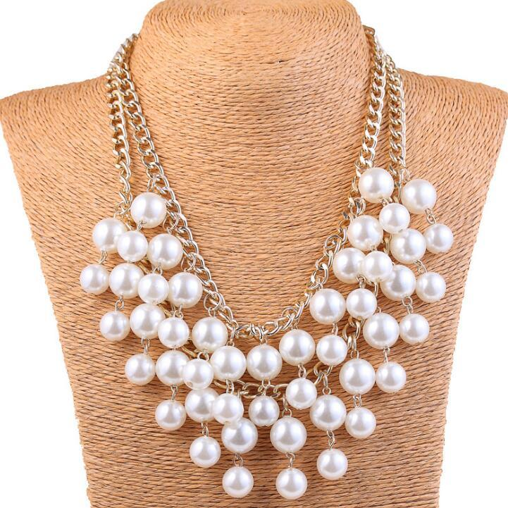 Huilin Jewelry Pearl Necklace Chain