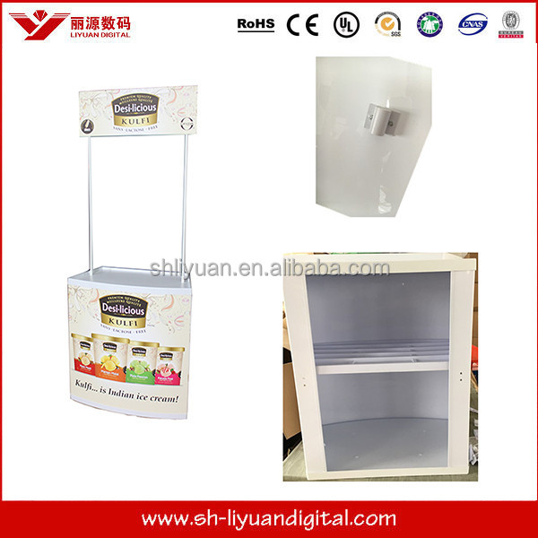 CHEAP advertising counter abs promotion table printing
