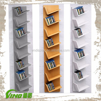 Handmade Wood Storage Shelf Display Whole Portable Tier Book Rack Stand Custom Wall Mounted