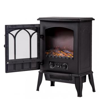 High Quality Log Flame Stove Portable Standing Electric Fireplace
