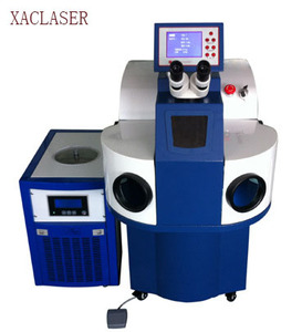 factory sale XAClaser 200w laser welder YAG spot laser welding machine price for 925 sliver gold and metal