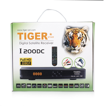 Tiger I200 DC DVB-S/S2 MPEG4 Free to Air Set Top Box