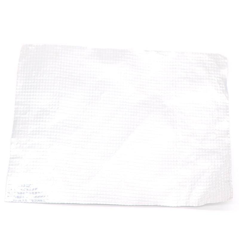 Double sided reflective aluminized polyester film / Radiant Barrier / Aluminium Foil Woven Fabric Aluminum Foil Laminated