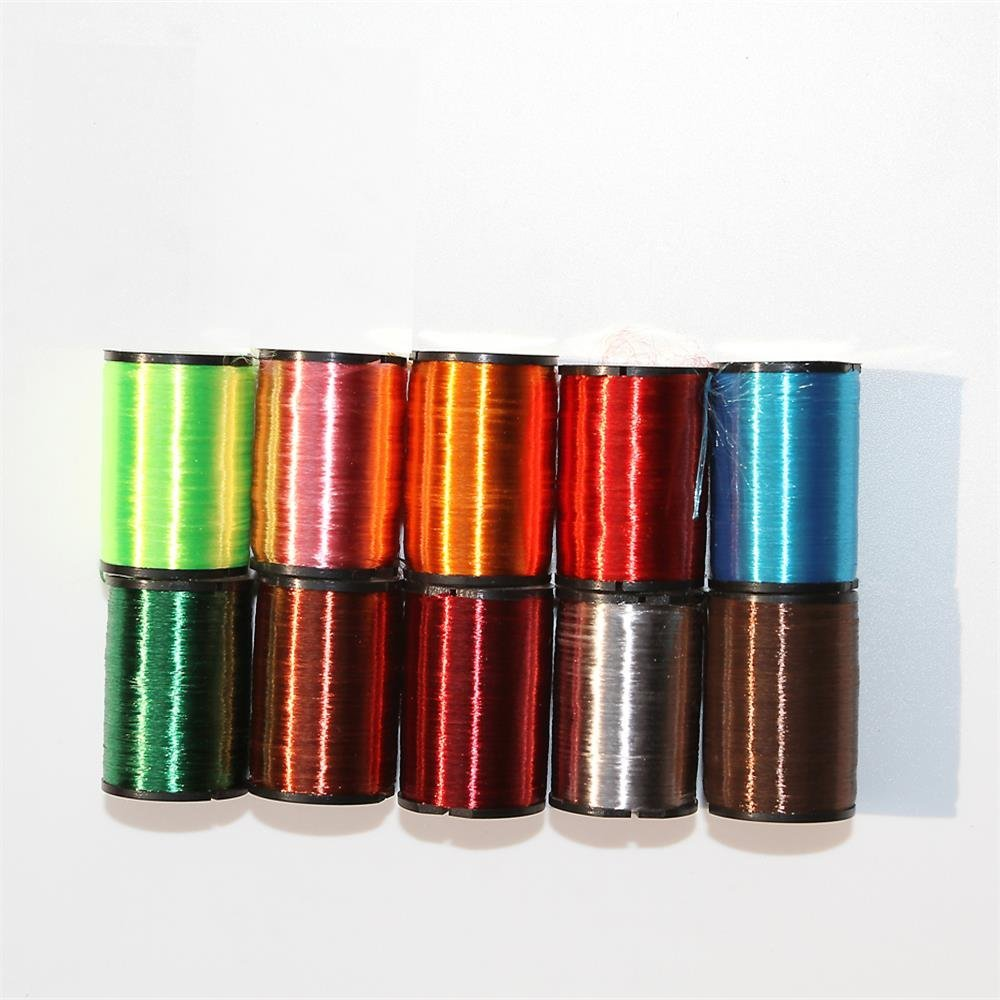 Best all-round thread for dry flies Fly Tying Materials All Colors (10Colors Mixed color)