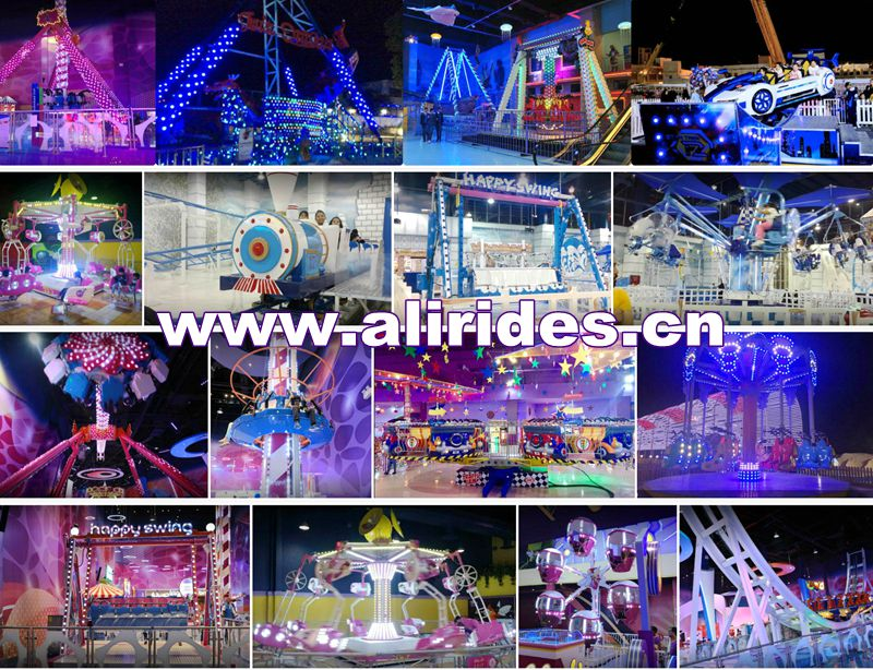 [Ali Brother]amusement park crazy mouse roller coaster rides for sale