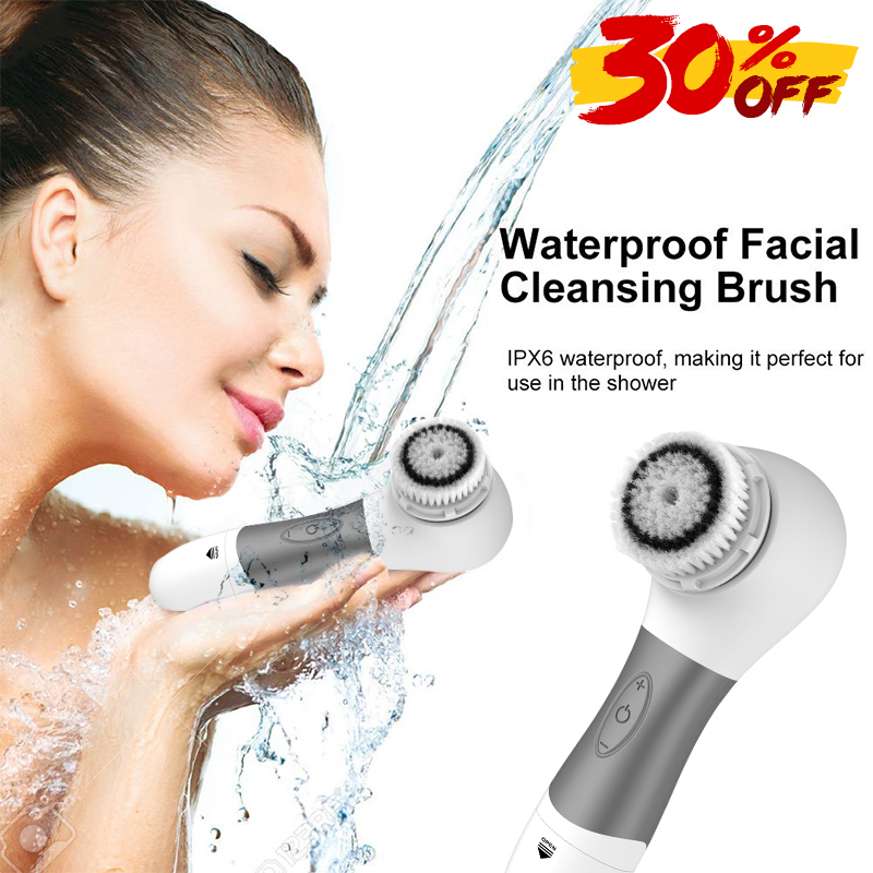 Top Sale face exfoliator brush Skin Care Electric Silicone Facial Cleansing Brush Manufacturer Private Label Facial Brush