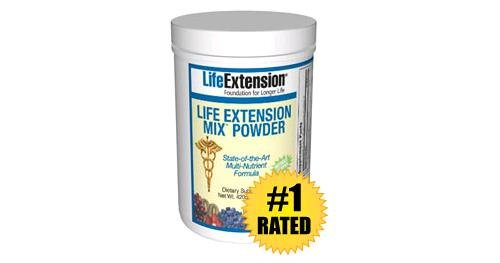 Life Extension Mix with Stevia without Copper Powder, 14.81 Ounce