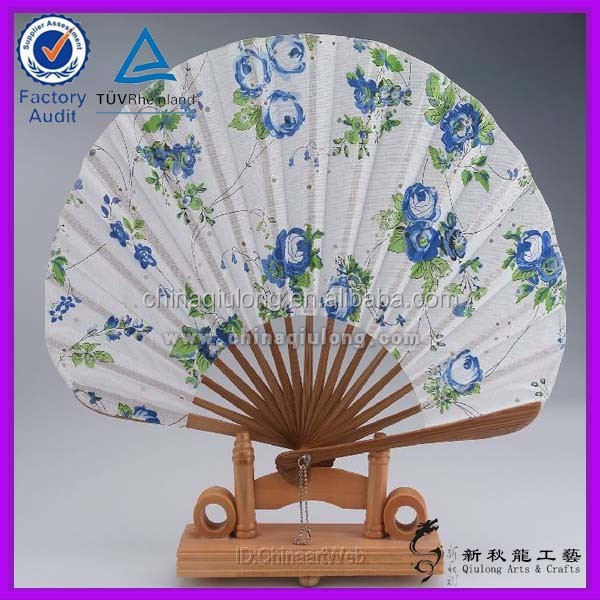 Chinese animal and flower hand held folding fans
