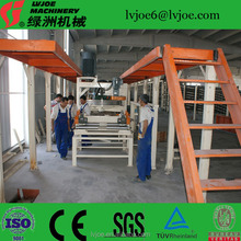 2016 high profitable gypsum plaster board production line/making machine