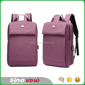 37955b1160b6 school bags of latest designs with USB charging port waterproof backpacks