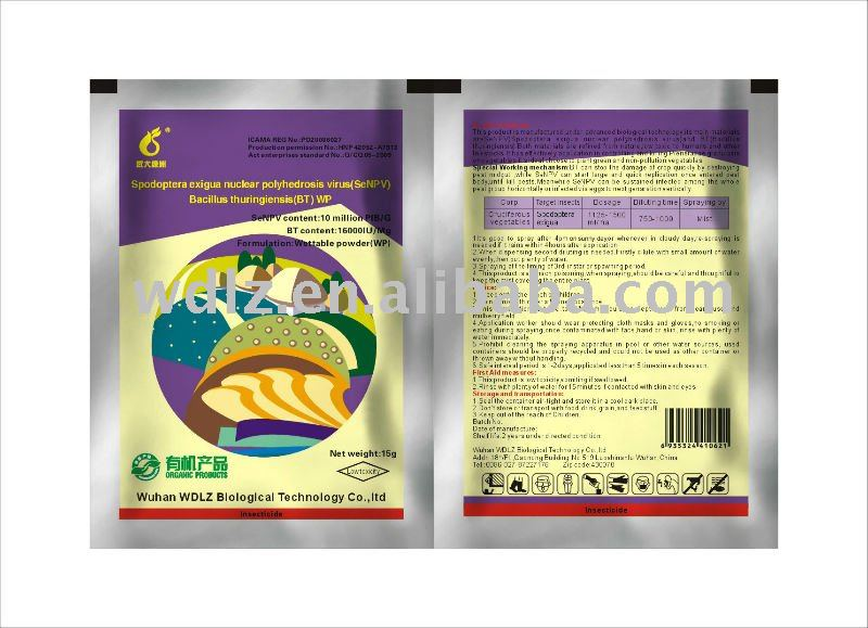 SeNPV & BT Eco Friendly Biological Pesticide for Organic Vegetables