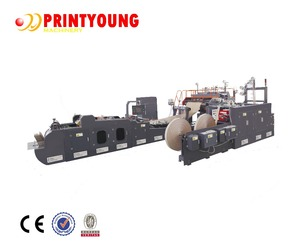 WFD-430 Roll Fed Fully Automatic Paper Handle Bag making Machine