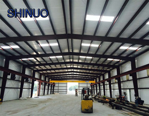 bigger Steel storage warehouse used metal industrial sheds in China