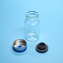 10ml Glass Vial Siliconized/With Stopper
