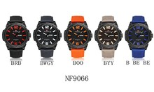 Casual watch for men,nylon material,chrono day/date and stylish watch plate