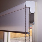 Double roller blind, double roller shade, double window curtain