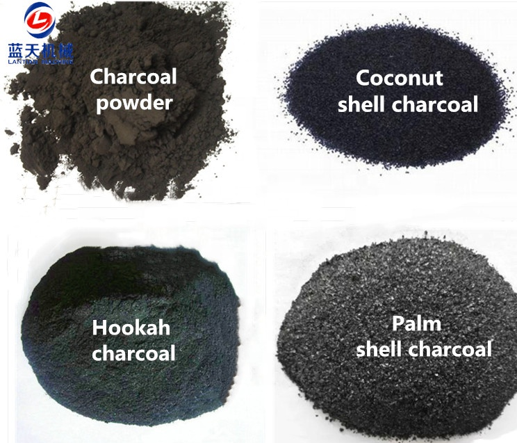Carbonizzazione furnac guscio di noce di cocco carbone di legna di bambù del carbone di legna che fa la macchina segatura mattonella del carbone di legna che fa la macchina