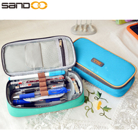 wholesale school stationery Magic channel large capacity multifunctional canvas pencil cases
