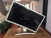 High resoluton FCC certificated white cabinet 32 inch curved LED monitor