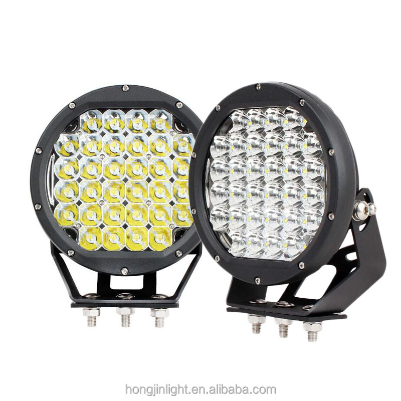 Factory Price 96W Round 9inch Black or Red Led Work Light 12V 24V offroad Jeep Truck Led Headlight