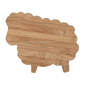 Animal Shape Cutting Board, Bamboo Vegetable Chopping Board Wholesale