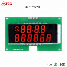 Benutzerdefinierte smart digitale uhr modul HT1621 controller board segment VA lcd display