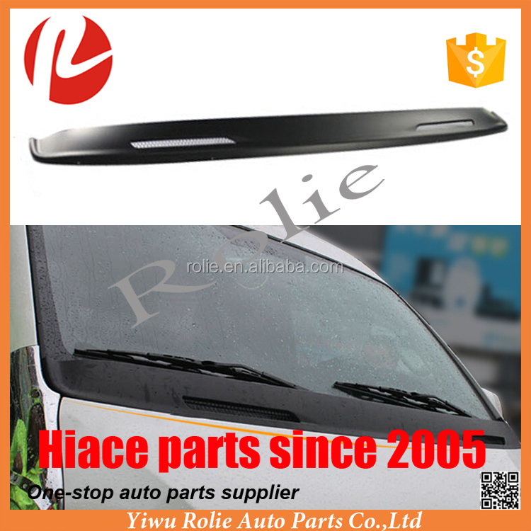 Engine hood bonnet windshield trim strip for Toyota hiace quantum 200 auto parts