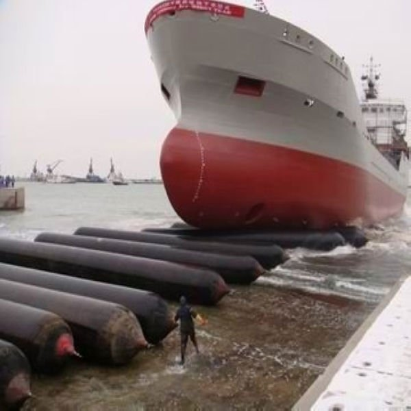 L=18m D=1.5 layer=6 layer marine gangway launching ship airbag