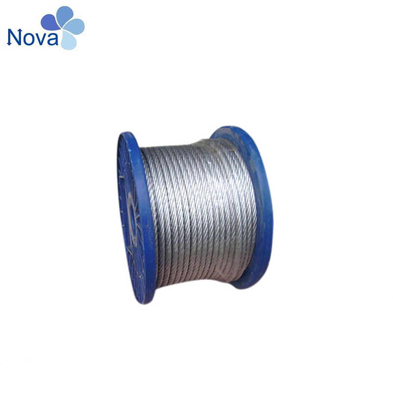 Direct factory price galvanized 16mm steel tower wire rope