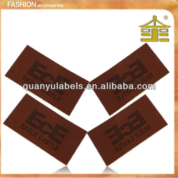 Product promotion imitation china jeans leather metal labels