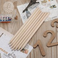 manufacturer HB recycling wood pencil with logo custom