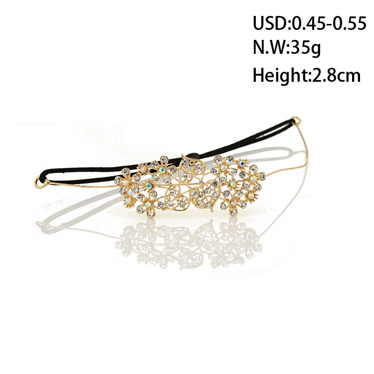 Top selling good quality bride wedding jewelry hairband