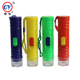 New Plastic Portable Button Small Mini Led Flashlight Torch Strong Light Flashlight For Outdoor Camping