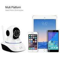 Smartphone/iPhone/IOS Viewing Two-way Baby Monitor Wifi Wireless IP Camera