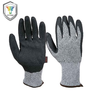 Industrial safety products 3m latex palm cut resistant gloves