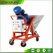 Multiple functional wall and ceiling, indoor and outdoor putty, paint and cement mortar spray machine