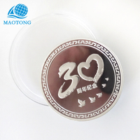 ag 999 silver coin souvenir metal challenge sterling silver coin custom fine pure silver die stamping coins with logo