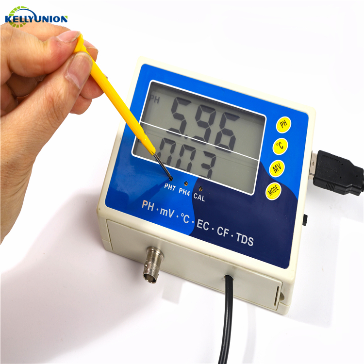 2019 Cheap and Thin Water TEMP/ORP Quality Tester Aquaculture PH/EC/TDS/CF Meter